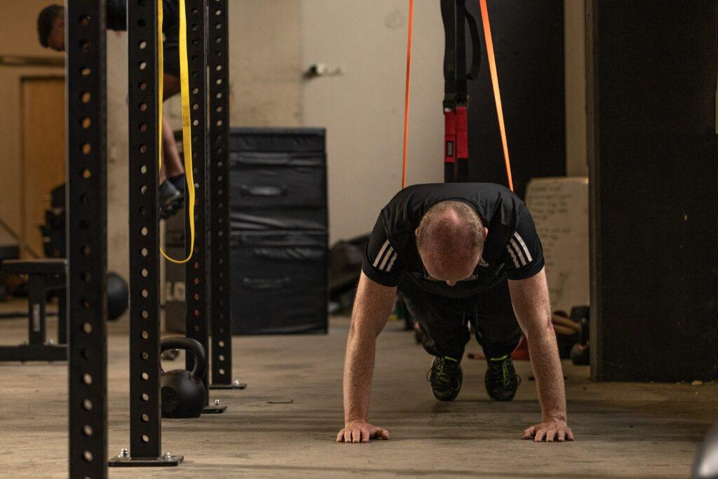 personal training met weerstandsbanden