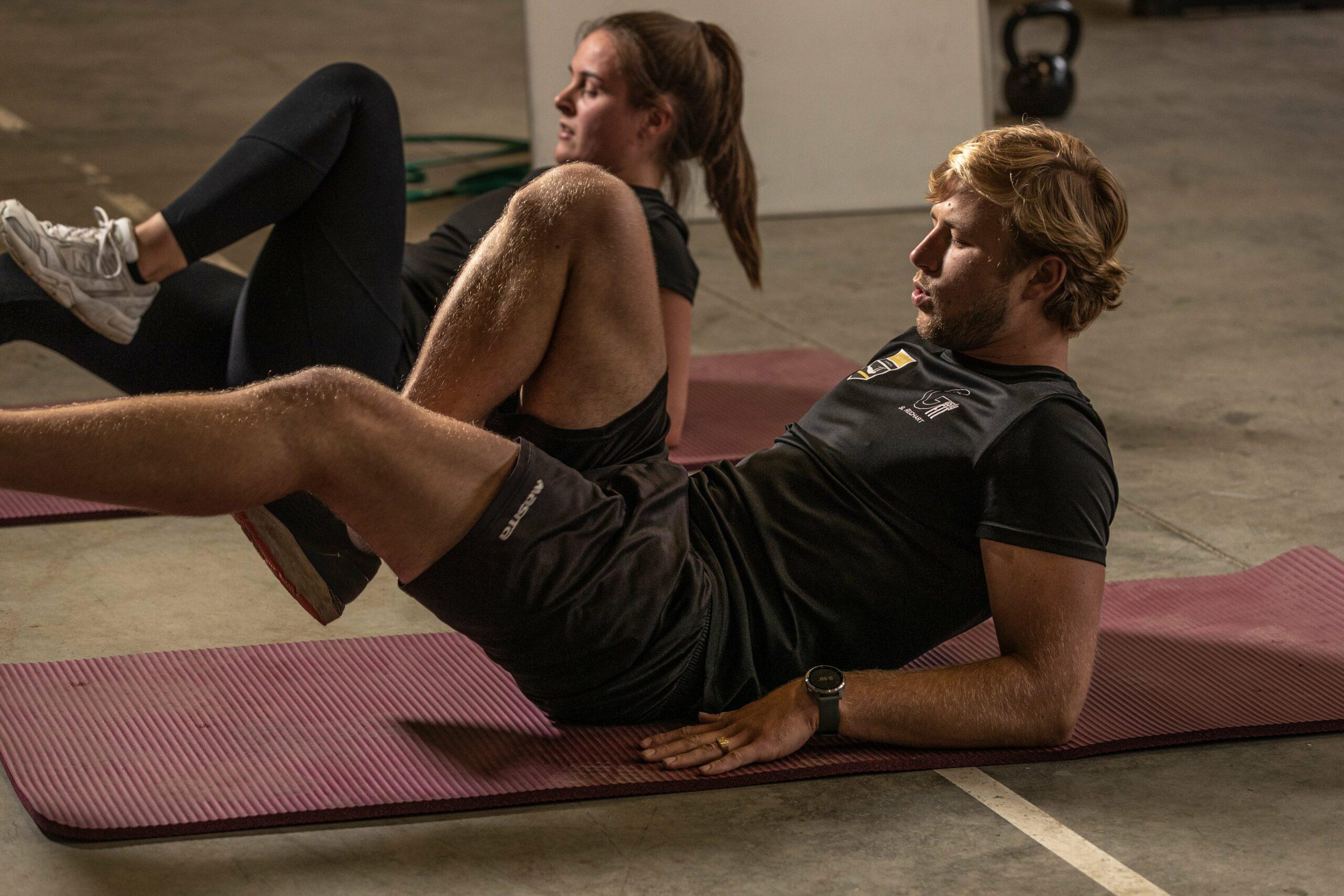 trainen met een personal trainer