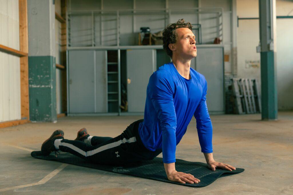 statische stretch yoga